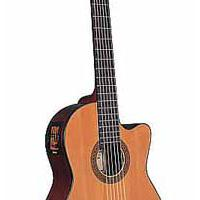 Large picture classical guitar LCG-17 M-CE