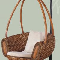 Large picture Indoor rattan hanging chair (3)