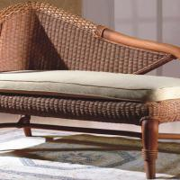 Large picture Indoor rattan chaise lounge (1)