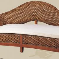 Large picture Indoor rattan chaise lounge (2)