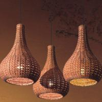 Large picture Indoor rattan hanging lamp (2)