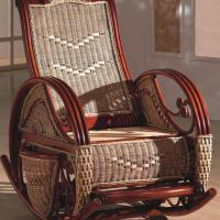 Large picture Indoor rattan rocking chair (3)