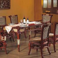 Large picture Indoor rattan dinning room furniture (3)