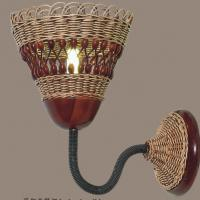 Large picture Indoor rattan wall lamp