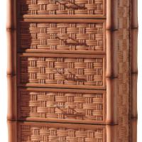 Large picture Indoor rattan drawer chest