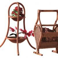 Large picture Indoor rattan planter stand (8)