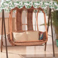 Large picture Indoor rattan hanging chair (4)