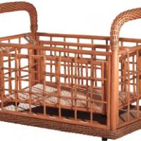 Large picture Indoor rattan baby bed