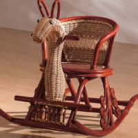 Large picture Indoor rattan rocking chair (5)