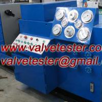 Large picture Hydraulic Valve Test Bench For Flange valves