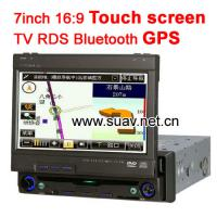 Large picture 7inch one din Touch screen in dash car DVD player