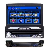 Large picture one din Touch screen in dash car DVD player TV,IPO