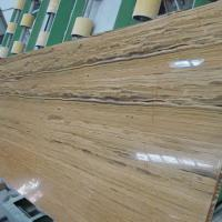 Large picture golden wood vein marble tiles