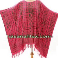 Large picture poncho
