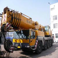 Large picture used liebherr 200t truck crane