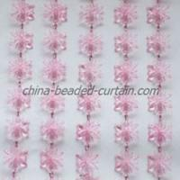 Large picture Flower beaded Curtain