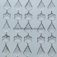 Large picture acrylic snowflake beads and baroque drop