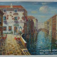 Large picture oil painting(venice style)