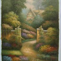 Large picture oil painting(modern landscape)