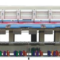 Large picture 610 type towel embroidery machine
