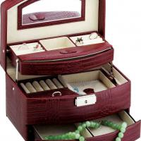 Large picture Leather Cosmetic Box (LCB-069)