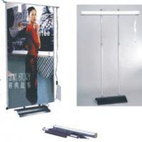 Large picture electric roll up banner stand,two side banner