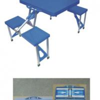 Large picture folding table and chair set, folding table chair