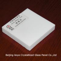 Large picture Pure White Crystallized Glass Panel