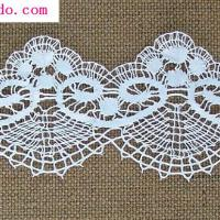 Large picture lace trimming