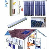 Large picture Solar Collector System, Heat Pipe Vacuum Tube