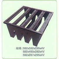 Large picture Plastic frame for rigid pocket filters