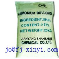 Large picture ammonium bifluoride