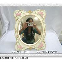 Large picture Polyresin mirror,polyresin crafts