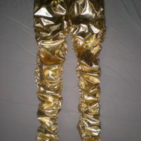 Large picture PU Coated legging,shiny leather look legging,metal