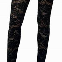 Large picture Lace legging,lace pants,lace tight