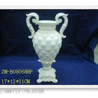 Large picture polyresin vase,polyresin flower stand