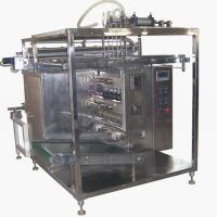 Large picture 6 lanes shampoo packing machine