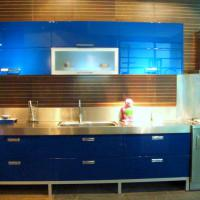 Large picture Lacquer kitchen cabinet, paited kithcen cabinet