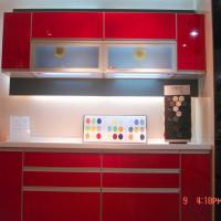 Large picture kitchen furniture, UV coating, kitchen cabinets