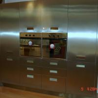 Large picture stainless steel kitchen cabinet,steel cabinet