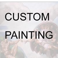 Large picture Custom Made Portrait photo to handmade Painting