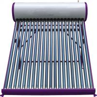 Large picture solar water heater