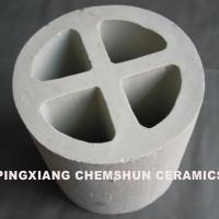 Large picture ceramic cross partition rings