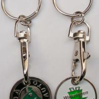 Large picture metal key chain