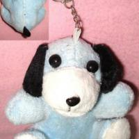 Large picture fuzzy key chain