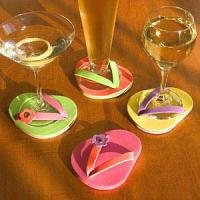 Large picture cup coaster