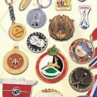 Large picture badges, medals, enamel, acrylic product, key chain