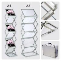 Large picture Aluminum Z Shape Brochure Stand
