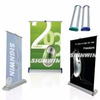 Large picture Aluminum Desktop Roll Up Banner