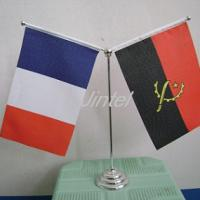 Large picture desk flag